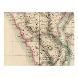 Le Pérou, Amérique du Sud 14 Carte Postale