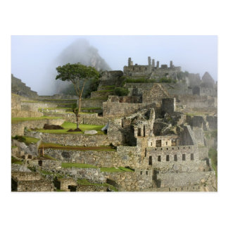 Le Pérou, Machu Picchu. La citadelle antique de Carte Postale