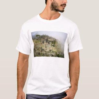 Le Pérou, Machu Picchu. La citadelle antique de T-shirt