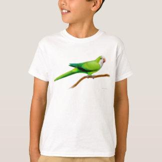 Le perroquet de quaker badine le T-shirt
