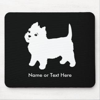 Le petit chien de Westie le plus mignon - Tapis De Souris