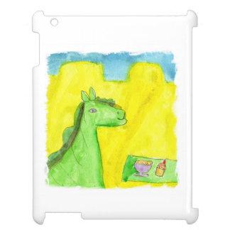 Le petit déjeuner du dragon de peinture étui iPad