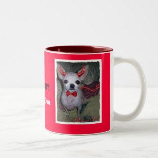 Le petit diable de la maman (chiwawa) tasse 2 couleurs