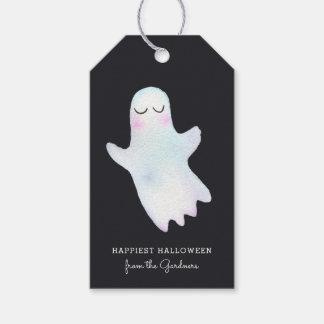 Le petit fantôme le plus mignon Halloween Étiquettes-cadeau