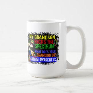 Le petit-fils bascule l'autisme de spectre mug blanc