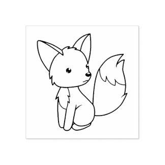 Le petit Fox mignon me colorent
