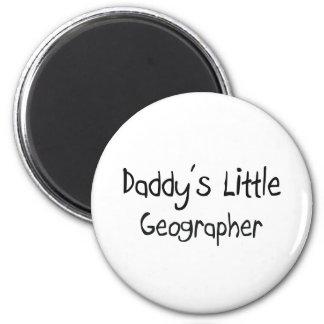 Le petit géographe du papa aimant pour réfrigérateur