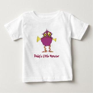 Le petit monstre du papa t-shirt pour bébé