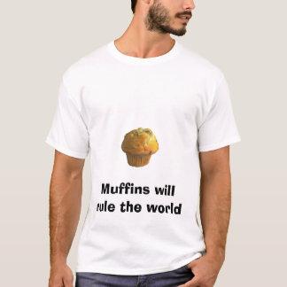 le petit pain, petits pains ordonnera le monde t-shirt