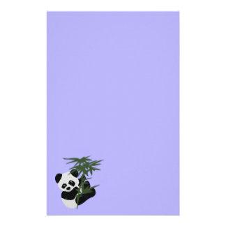 Le petit panda papier à lettre