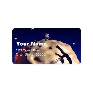 Le PETIT PRINCE étiquettes de adresse