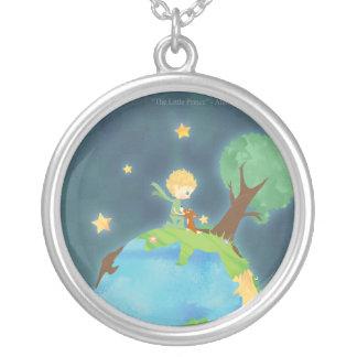 Le petit prince Necklace 2 Pendentif Rond