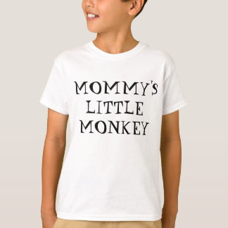 Le petit singe de la maman -- Emoji T-shirt