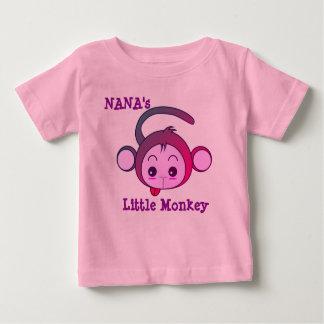 Le petit singe de Nana T-shirt Pour Bébé