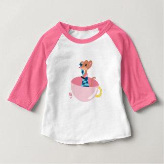 Le petit T-shirt de bébé d'explorateur de souris