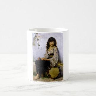 Le peu de ~ de fille de tambour de basque mug blanc