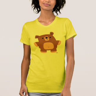 Le peu de T-shirt de femmes d'ours