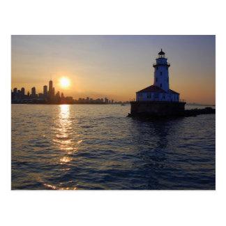 Le phare de Chicago Carte Postale