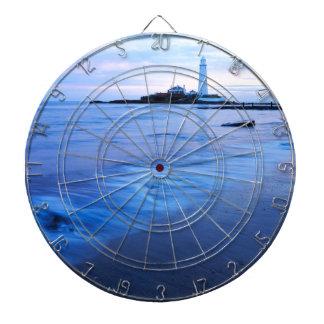 Le phare de Mary de saint à la baie de Whitley Cible De Fléchettes