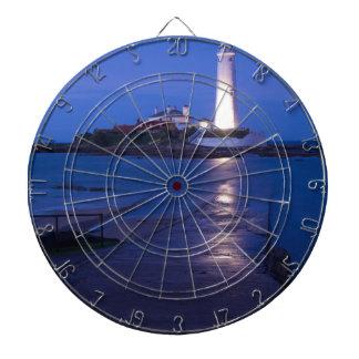 Le phare de Mary de saint à la baie de Whitley Cibles De Fléchettes