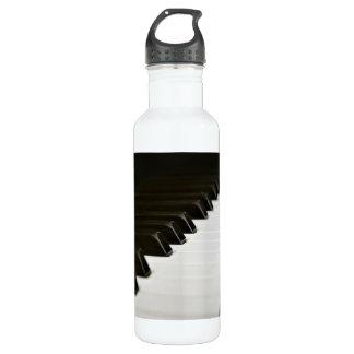 Le piano verrouille le mélomane bouteille d'eau