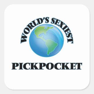 Le pickpocket le plus sexy du monde sticker carré