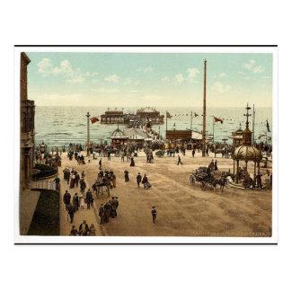 Le pilier du nord, classique Photoch de Blackpool, Carte Postale