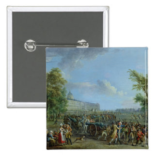 Le pillage de l'Invalides, le 14 juillet 1789 Badges