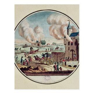 Le pillage et la destruction des Chateaux Carte Postale
