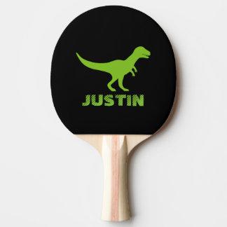 Le ping-pong de dinosaure de rex de T barbote pour Raquette Tennis De Table