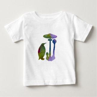 Le pingouin et le champignon t-shirt pour bébé