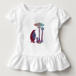 Le pingouin et le champignon t-shirt pour les tous petits