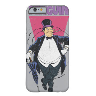 Le pingouin - graphique affligé coque barely there iPhone 6