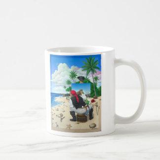 Le pirate de peinture mug
