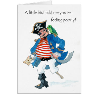 Le pirate obtiennent bientôt la carte bonne
