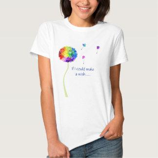 Le pissenlit de sensibilisation sur l'autisme t-shirts