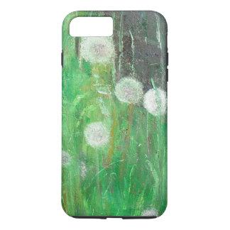 Le pissenlit synchronise en huile de l'herbe 2008 coque iPhone 7 plus