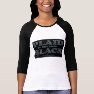Le plaid est le nouveau noir ! t-shirt