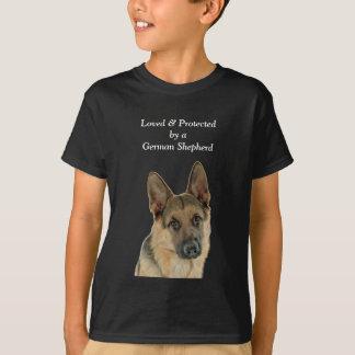 Le plaisir de l'amant de berger allemand t-shirt