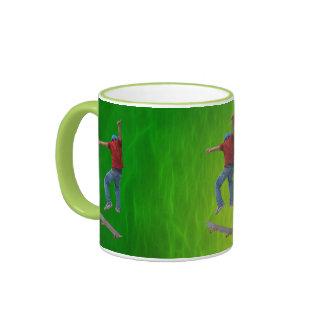 Le planchiste obtiennent un certain art de Kulcha  Mug Ringer