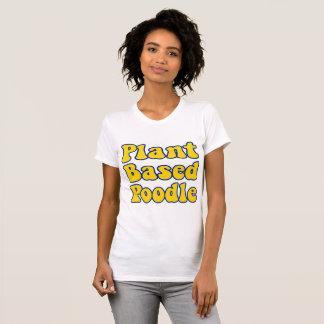 Le plante a basé le T-shirt de caniche