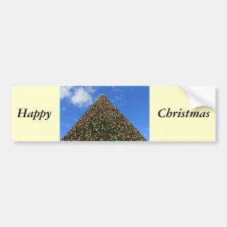 Le plus grand arbre de Noël du monde Adhésifs Pour Voiture