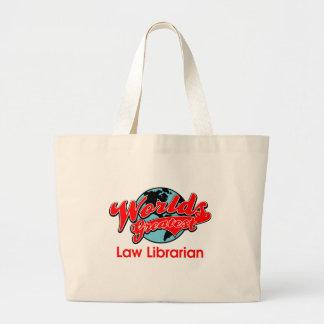 Le plus grand bibliothécaire de la loi du monde grand sac