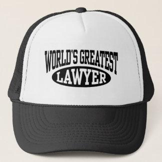 Le plus grand casquette d'avocat