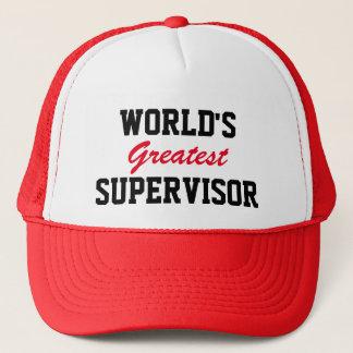 Le plus grand casquette du surveillant du monde