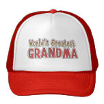 Le plus grand chapeau d'art de mot de la casquette