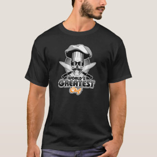 Le plus grand chef v4 du monde t-shirt