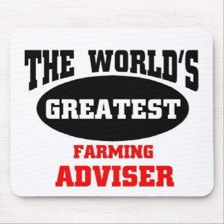 Le plus grand conseiller agricole tapis de souris