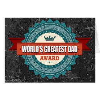 Le plus grand cru du papa du monde cartes