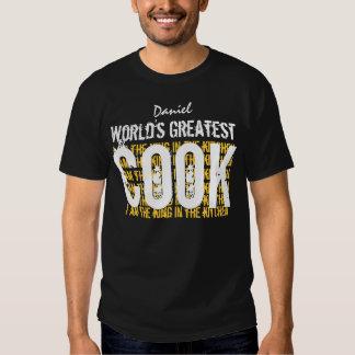 Le plus grand cuisinier A002 drôle de BBQ des T-shirt
